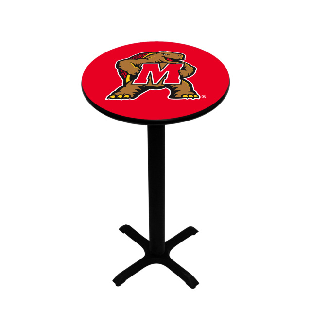 Red Pub Table Nhl Chrome Pub Table 40 In Attractive Bar
